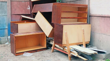 deconstructed furniture removal
